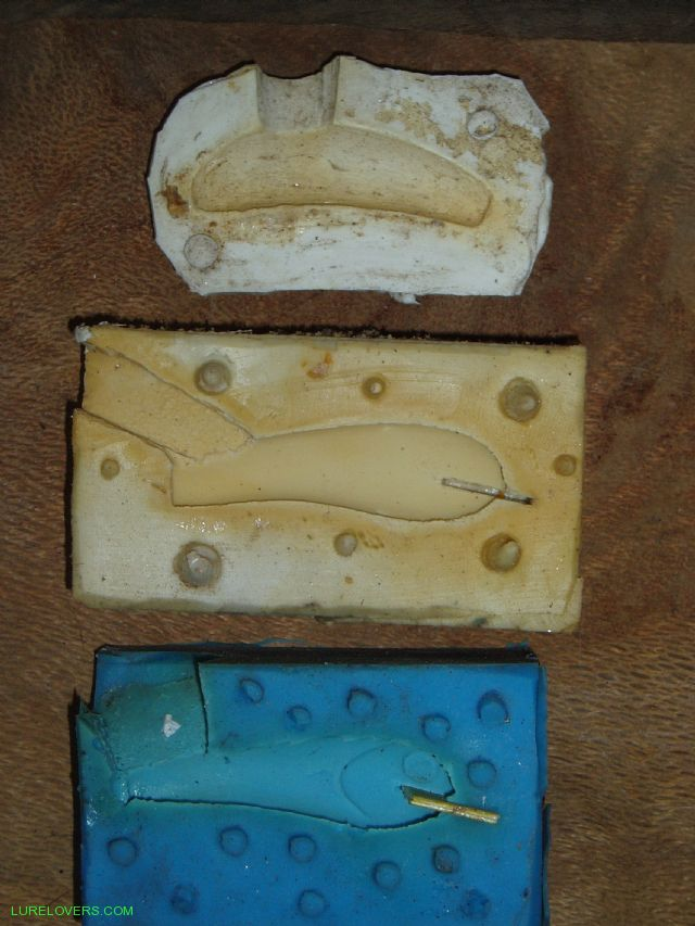 Making a mould lurelovers australian fishing lure for Fishing lure molds