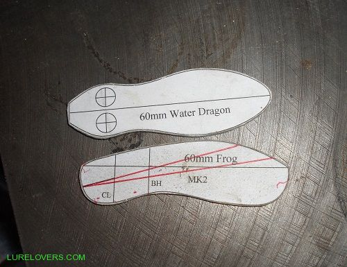 You Have To Design A Lure With Top And Side View Template Can Not Upload PDF For Those Interested In Trying This Method Out